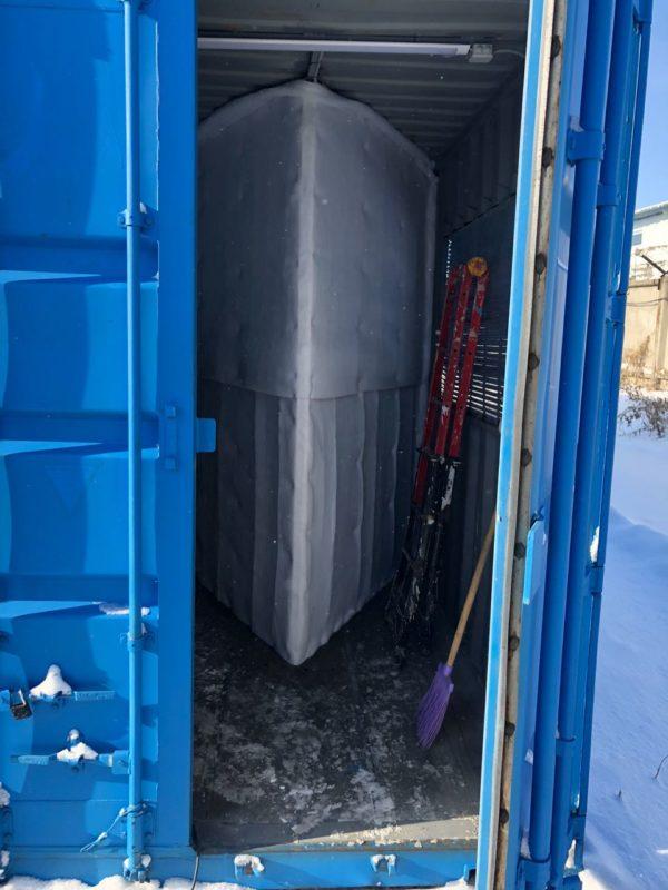 мобильный контейнер для майнинга на базе морского контейнера 40 футов 5
