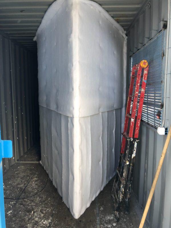 мобильный контейнер для майнинга на базе морского контейнера 40 футов 6