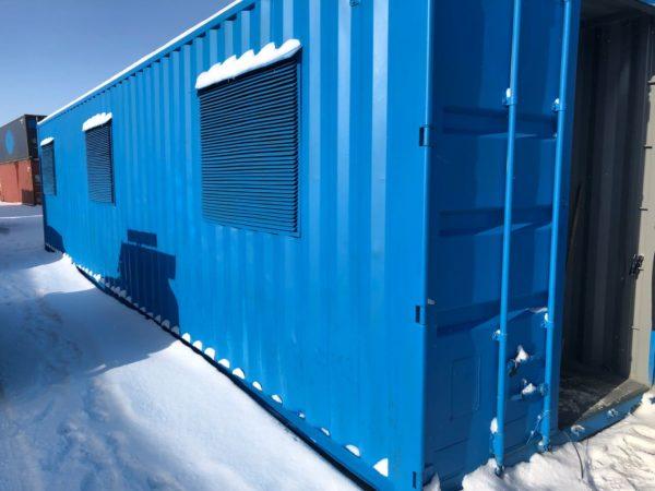 мобильный контейнер для майнинга на базе морского контейнера 40 футов 7