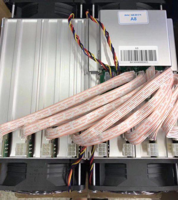 Innosilicon A8+вид сверху