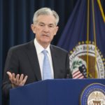 Выступление главы ФРС Джерома Пауэлла на пресс-конференции, посвященной решению ведомства по уровню учетной процентной ставки